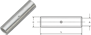 Cable Joint Long Barrel