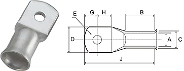 Cable Lugs Bell Mouth